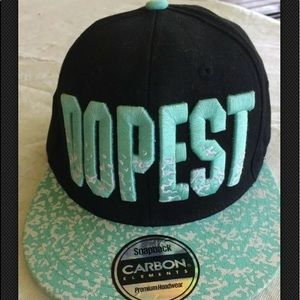 DOPEST Carbon element snapback embroidered. A135